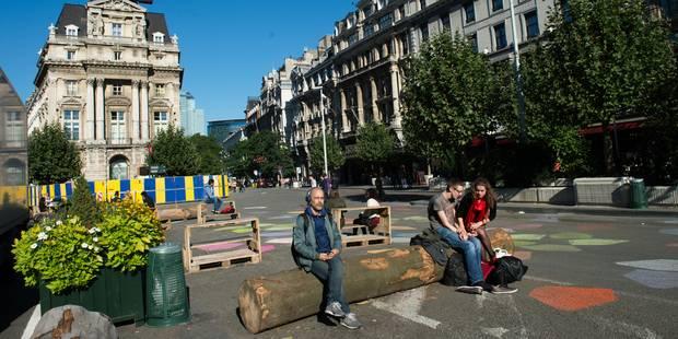 Piétonnier: Changement significatif sur la Place De Brouckère - La DH
