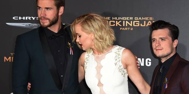 """Les stars de """"Hunger Games"""" rendent hommage aux victimes des attentats de Paris - La DH"""