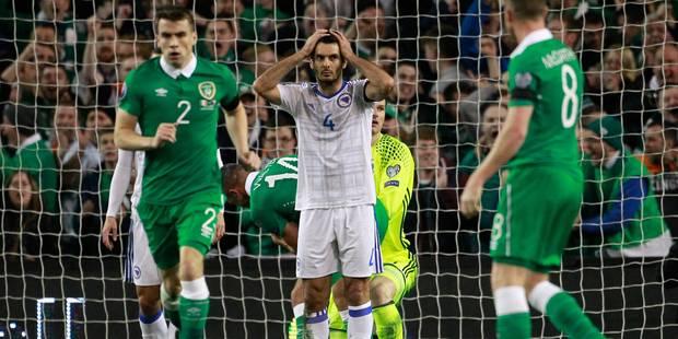 Le penalty polémique qui permet à l'Irlande de se qualifier pour l'Euro (VIDEO) - La DH