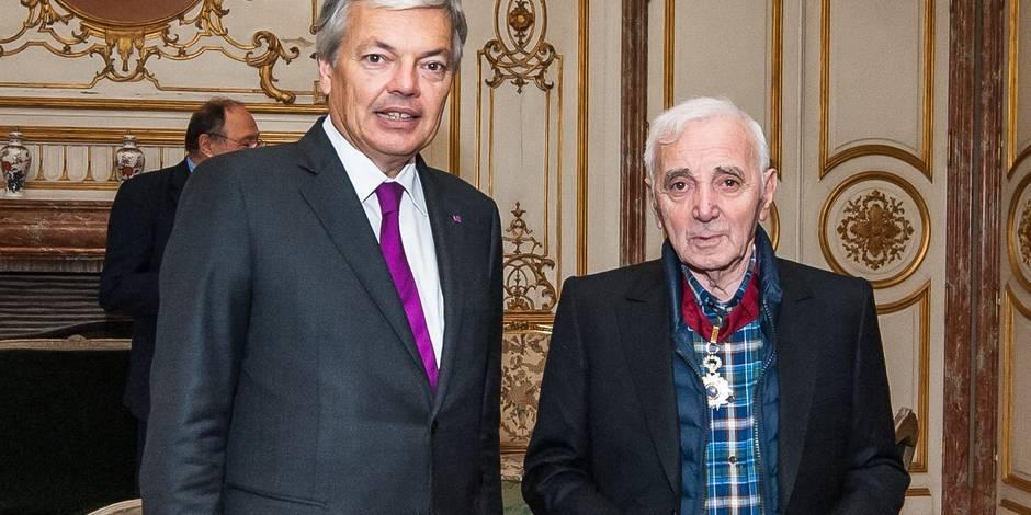 """Aznavour: """"Il faudrait que je sois mourant pour annuler mon concert!"""""""