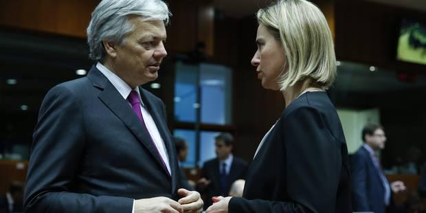 Didier Reynders opposé à une intervention militaire belge au sol en Syrie - La DH