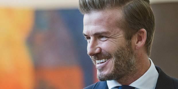 David Beckham élu homme le plus sexy de la planète - La DH