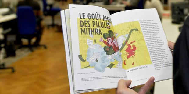 Le magazine Médor maintient ses présentations du week-end - La DH
