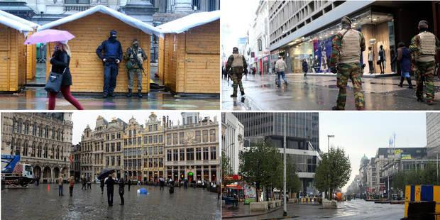 Les photos et vidéos de Bruxelles en état de siège - La DH