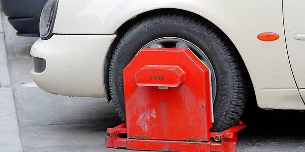 Bruxelles: des sabots sur les voitures ventouses - La DH
