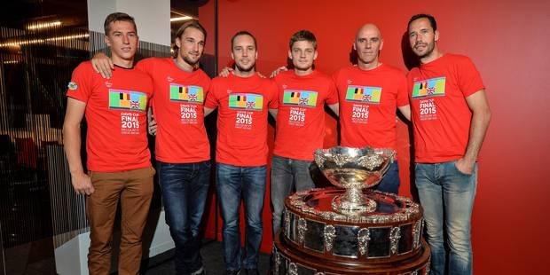 Djokovic et Federer ne voient pas les Belges gagner la Coupe Davis - La DH
