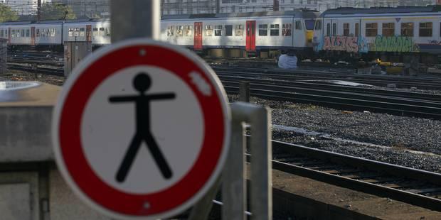 SNCB: des personnes sur les voies ont provoqué 57 heures de retard lundi - La DH