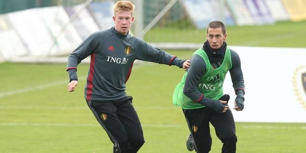 Equipe UEFA 2015: Kevin De Bruyne et Eden Hazard parmi les 40 joueurs nommés - La DH