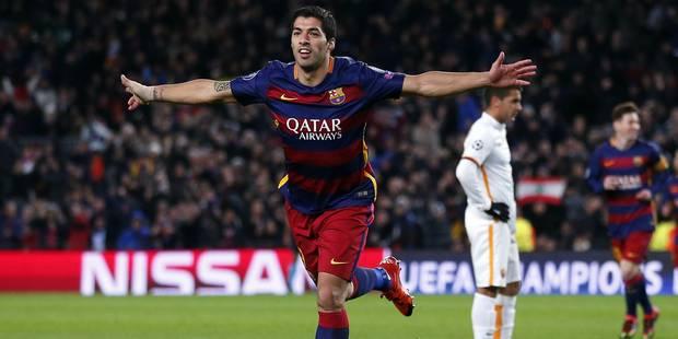 La superbe reprise de Luis Suarez face à la Roma (VIDEO) - La DH