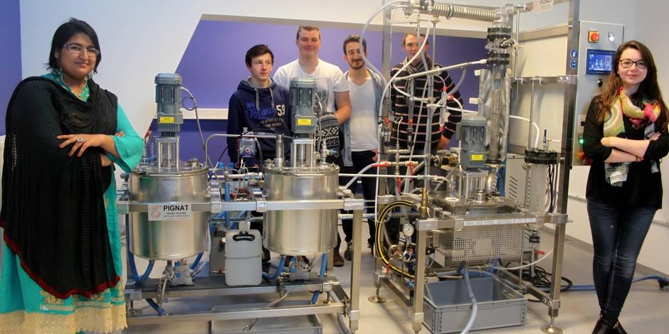 La production d'une bière comme projet estudiantin au collège Saint Servais