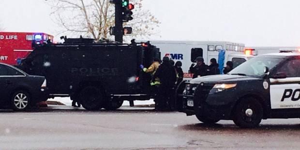 Fusillade au Colorado : 4 policiers blessés - La DH