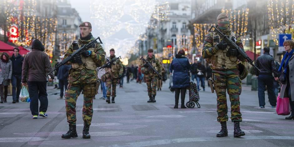 """Menace terroriste: """"Le passage au niveau trois est justifié"""" - La DH"""