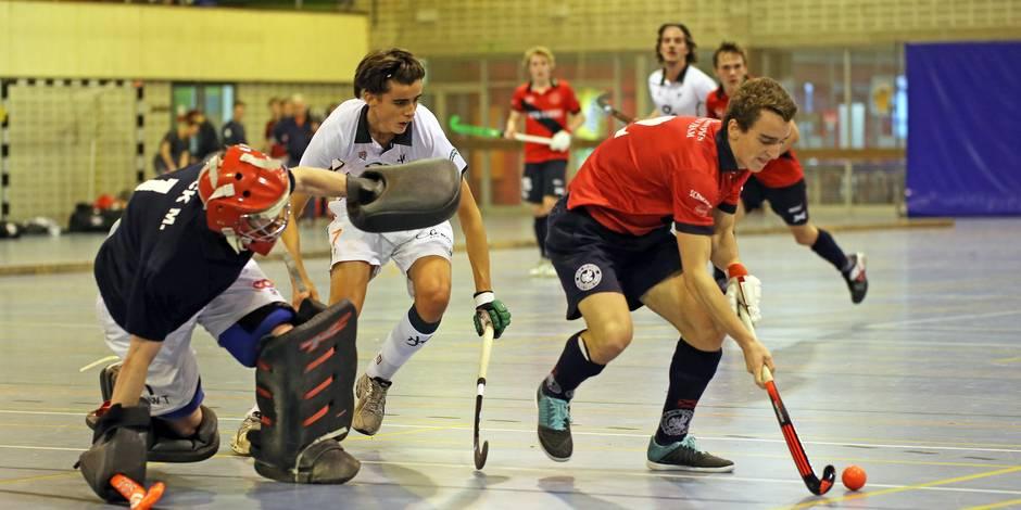Hockey en salle: l'Amicale Anderlecht prend la tête du championnat