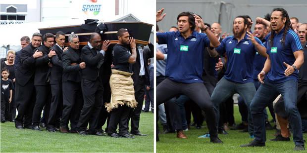 Un vibrant hommage et un haka d'adieu pour Jonah Lomu (VIDEO) - La DH