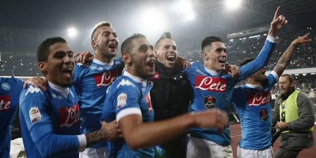 Naples renverse l'Inter et s'installe en tête du Calcio - La DH