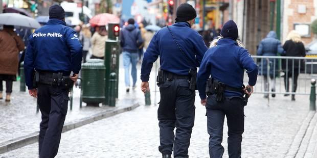 Près de 800 policiers font défaut à Bruxelles - La DH
