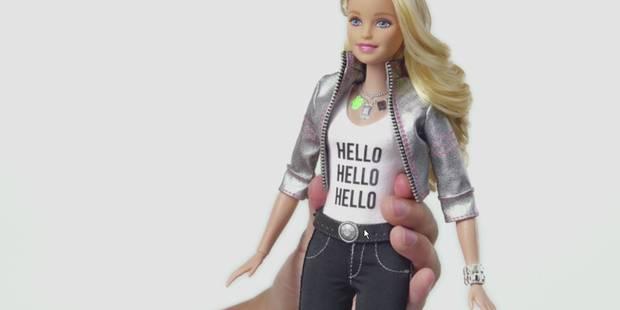 """Jugée """"trop bavarde"""", la nouvelle Barbie inquiète - La DH"""