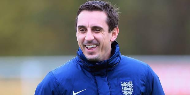 Gary Neville officiellement nommé entraîneur de Valence - La DH