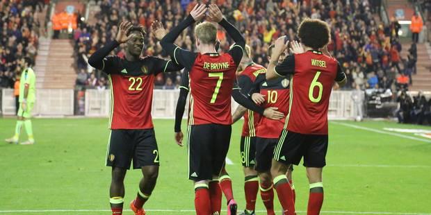 Officiel: les Diables sont en tête du classement FIFA jusqu'en fin d'année - La DH