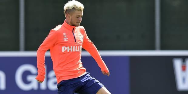 Maxime Lestienne s'entraîne de nouveau au PSV - La DH