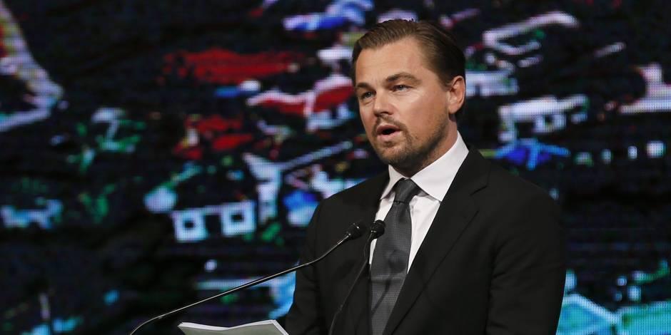"Di Caprio: ""J'ai cru mourir en faisant de la plongée"""