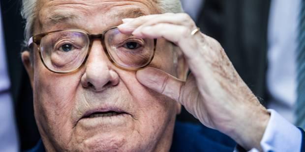 Le tweet de mauvais goût de Jean-Marie Le Pen - La DH