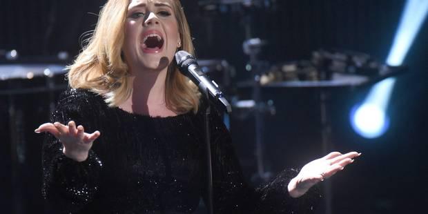 Adele à nouveau accusée de plagiat! - La DH