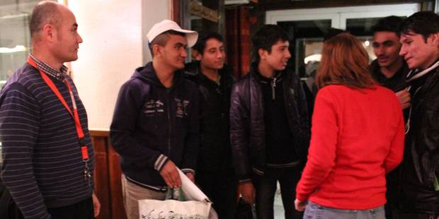 Baraque de Fraiture: les 20 premiers réfugiés sont arrivés (PHOTOS) - La DH