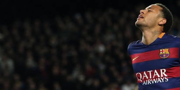 Neymar se blesse à la cuisse à l'entraînement - La DH