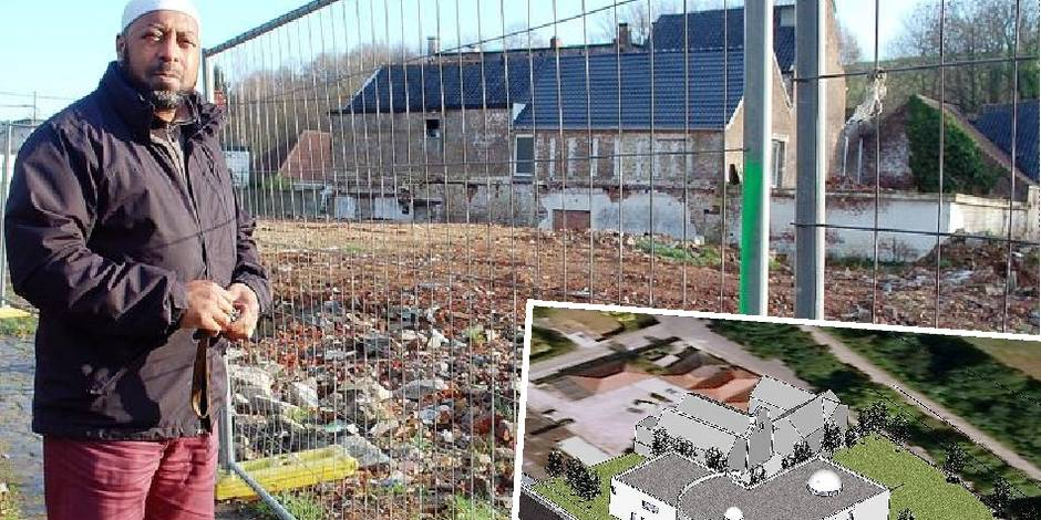 Le permis de la mosquée de Court-Saint-Etienne à nouveau suspendu