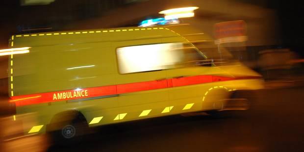 Dour: un chauffeur grièvement blessé - La DH