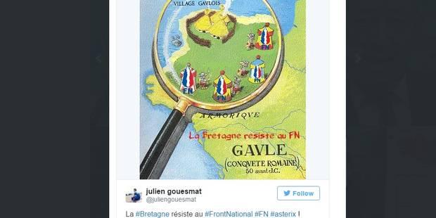 La Bretagne résiste au FN, la toile se déchaîne - La DH