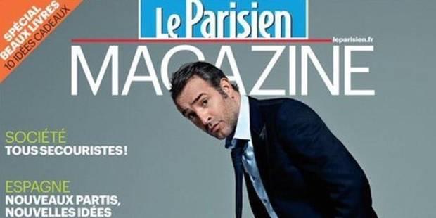Rififi entre Jean Dujardin et Le Parisien à cause de cette Une - La DH