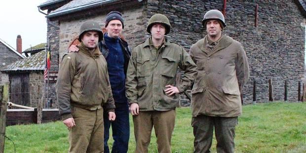 Bataille des Ardennes : une reconstitution à Joubiéval - La DH