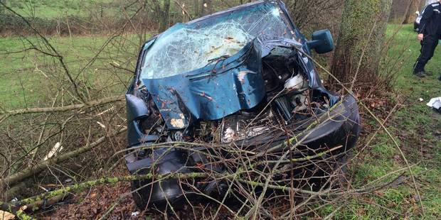 Un accident fait un mort et un blessé sur la N53 à Strée - La DH