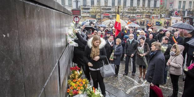 Tuerie de Liège: une centaine de personnes présentes pour l'hommage aux victimes - La DH