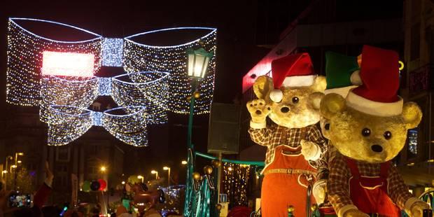 La parade de Noël a attiré 70.000 personnes à Bruxelles - La DH