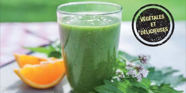Tendance : les smoothies aux plantes sauvages pour doper son organisme - La DH