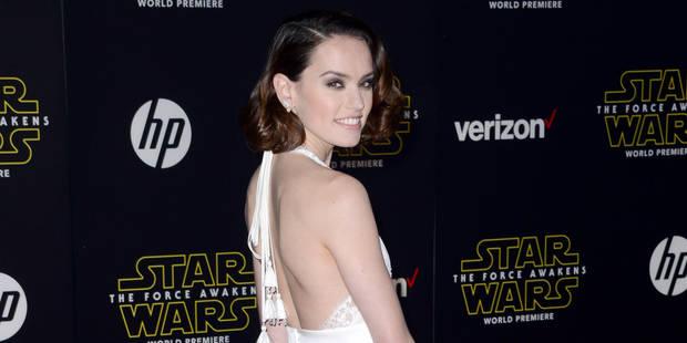 Élégance, noir et blanc et ... androïdes sur le tapis rouge Star Wars - La DH