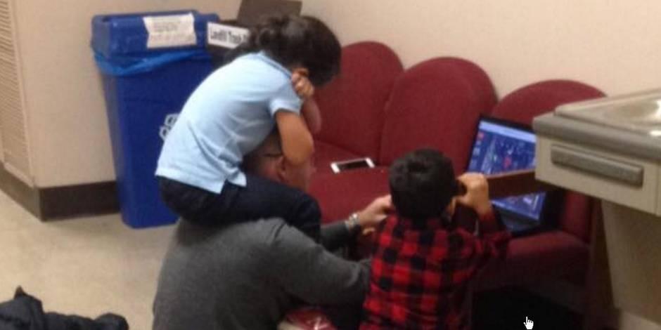 Le beau geste de ce professeur envers une maman étudiante