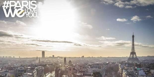 #ParisWeLoveYou pour redorer l'image de la capitale française - La DH
