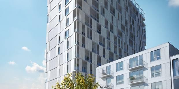Une nouvelle tour de luxe dans le centre de Bruxelles - La DH