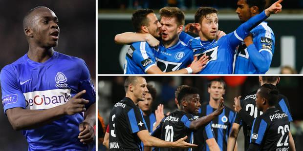 Genk, Gand et Bruges qualifiés pour les 1/2: tous les buts en vidéos - La DH