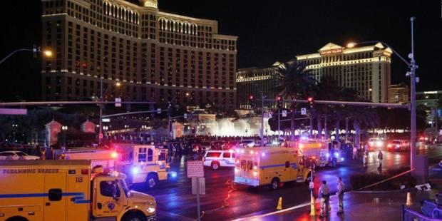 Une femme au volant fonce dans la foule � Las Vegas: au moins un mort et 26 bless�s