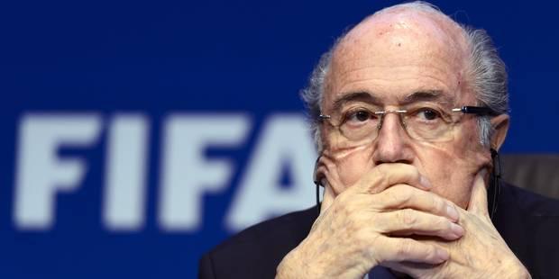 Fifagate: Blatter affirme que les accusations de corruption ont été abandonnées - La DH