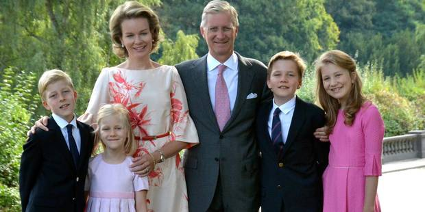 La famille royale belge f�te No�l sur les r�seaux sociaux !
