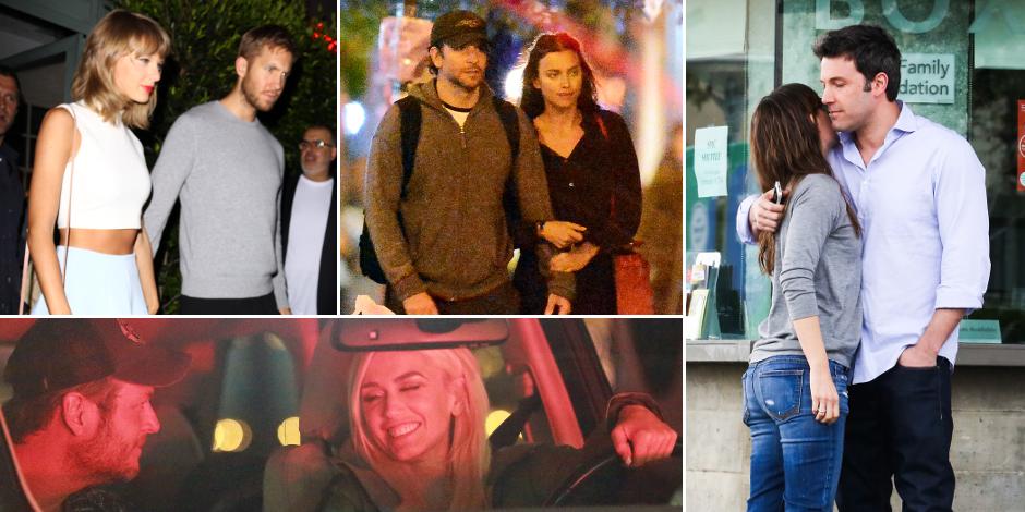 Ces couples qui se sont formés et séparés en 2015