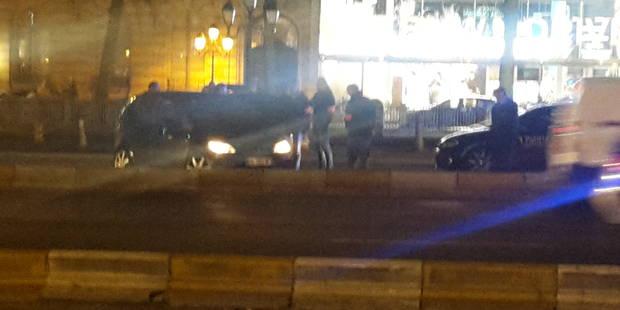 Bruxelles: des fuyards interceptés boulevard de Waterloo, la police ouvre le feu (VIDEOS) - La DH