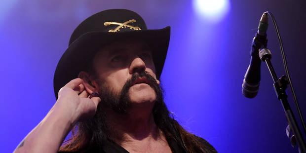 Le chanteur et leader du groupe Motörhead, Lemmy Kilmister, est décédé - La DH