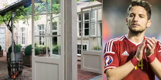 Petit tour dans la future demeure (classée!) de Dries Mertens - La DH